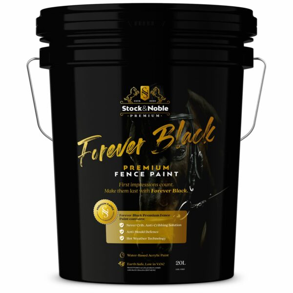 Master Blend Fence Paint - Forever Black