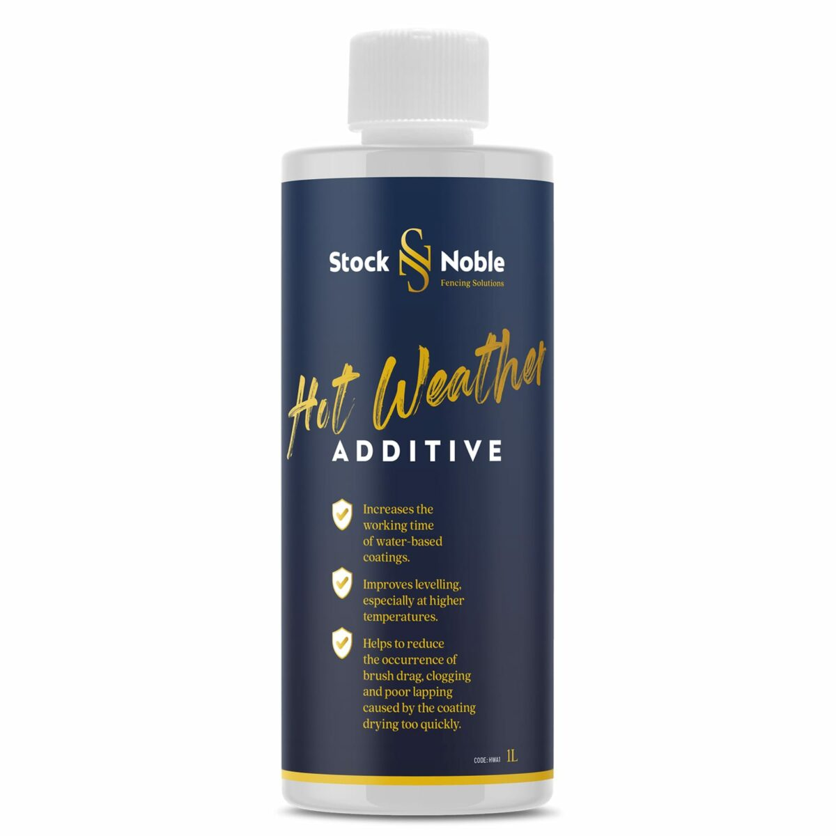 Master Blend Fence Paint Hot weather additive Design - Stock and Noble