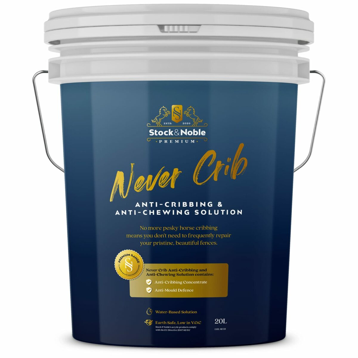 Master Blend Fence Paint Never Crib Design - Stock and Noble