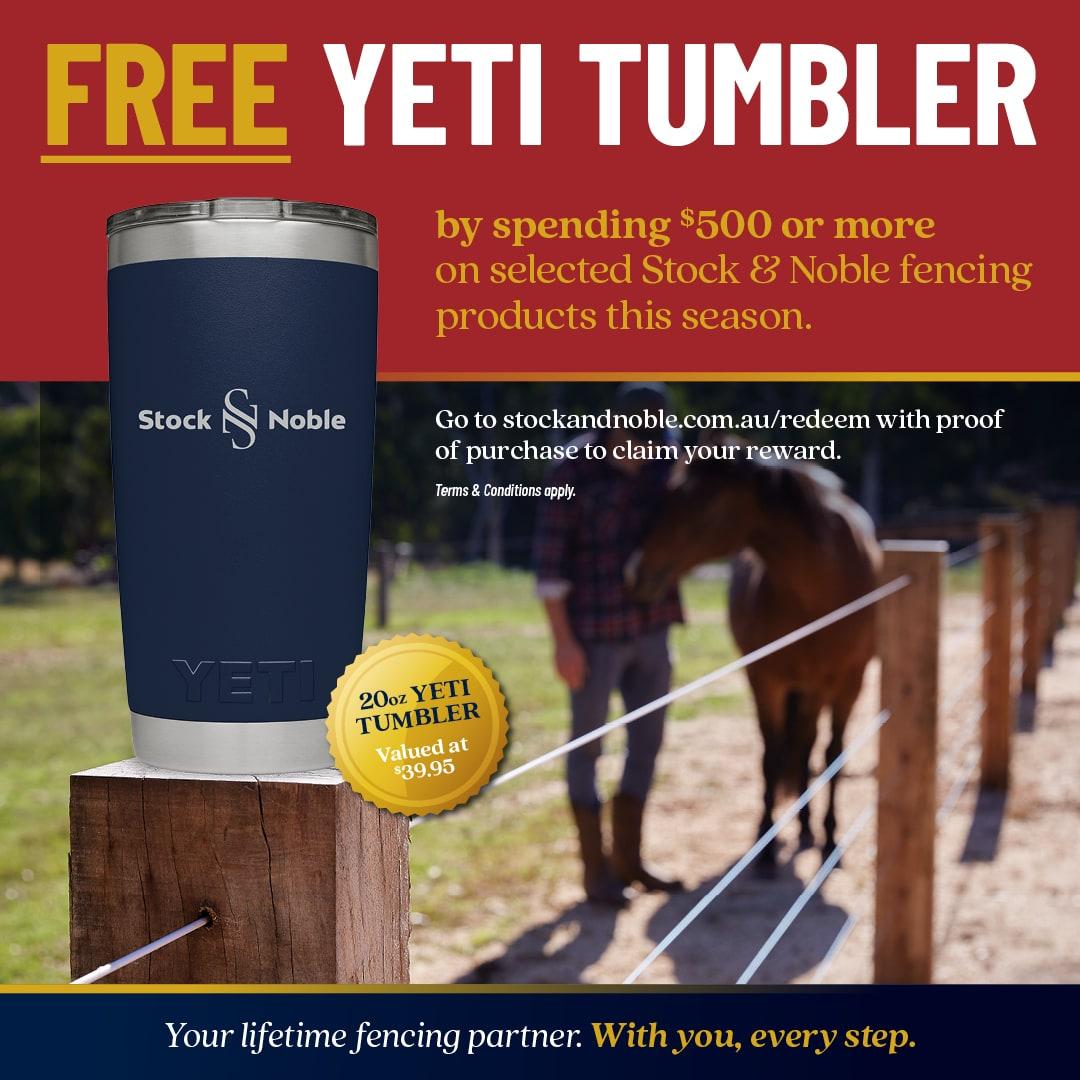 YETI Redeem - Stock and Noble