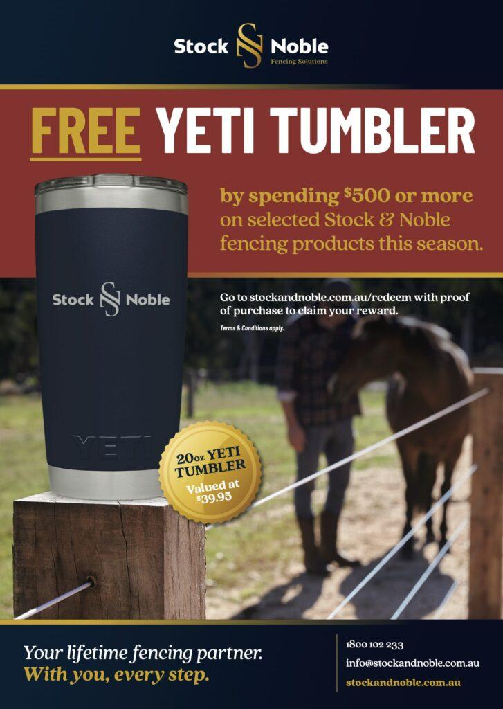 Yeti Tumbler - Stock and Noble